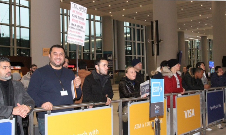 Tourist agents furious over 4 euro fee at Istanbul airport waiting area
