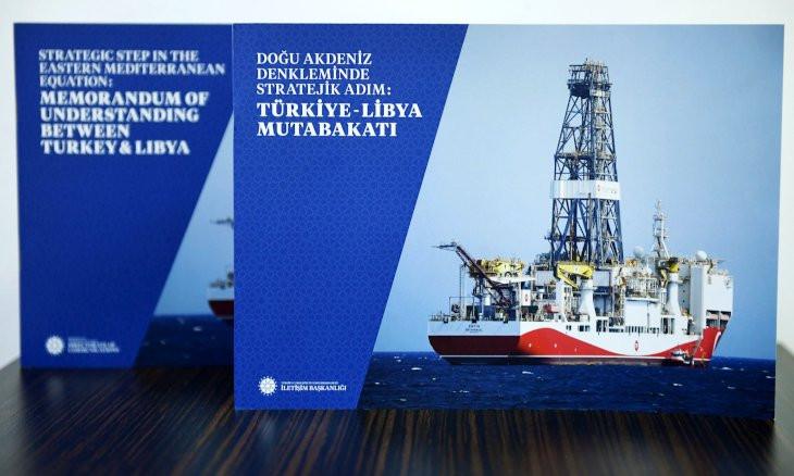 Erdoğan gives book on Turkey-Libya deal as gift to Putin