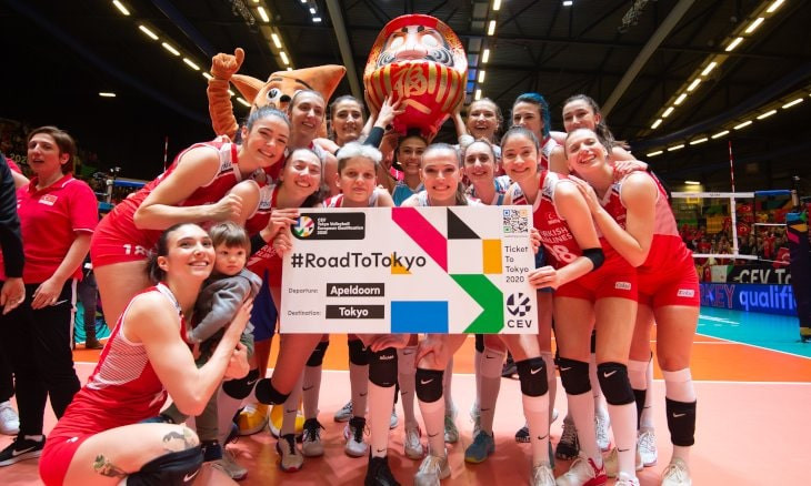 Turkish women's volleyball team to compete in Tokyo Olympics