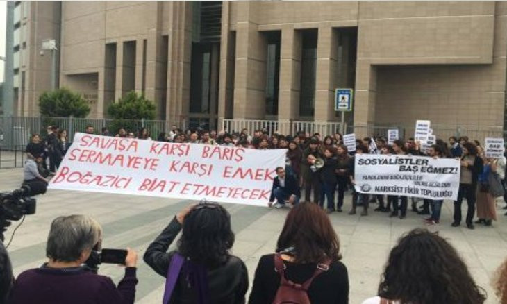 27 Boğaziçi students given jail terms for protesting Turkey's Afrin operation