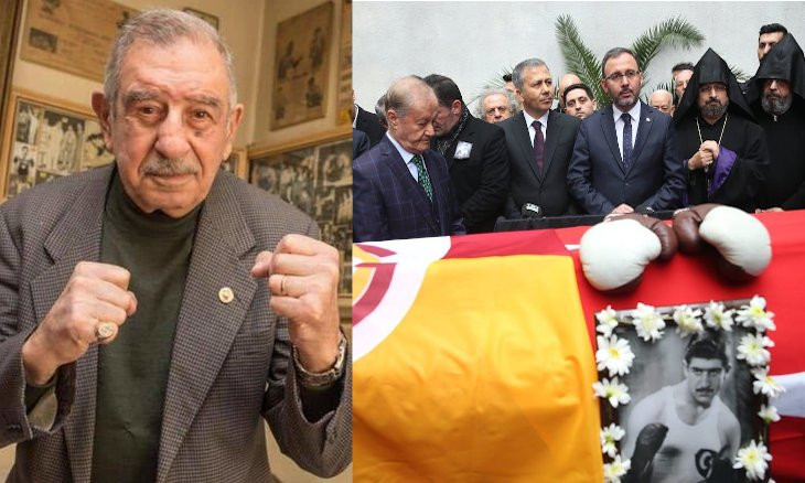 Turkey's first professional boxer Garbis Zakaryan laid to rest in Istanbul