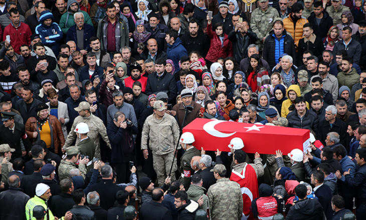 For what and for whom are Turkish troops dying?