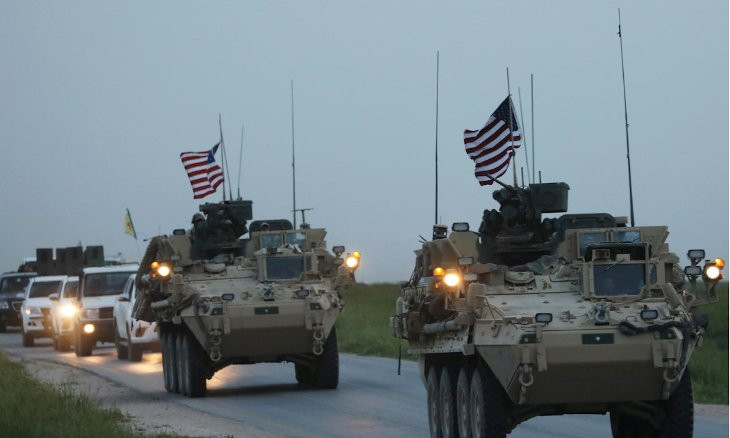 US troops clash with Syrian gov't loyalists near Qamishli