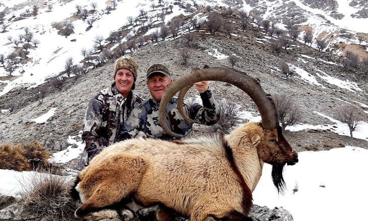 American couple kills two mountain goats considered sacred in eastern Turkey