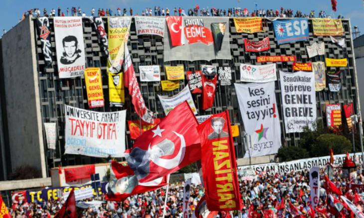 The Gezi Park protests were a milestone for Erdoğan