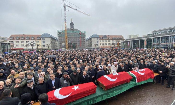 Two Turkish men slain in Hanau shooting to be buried in Turkey