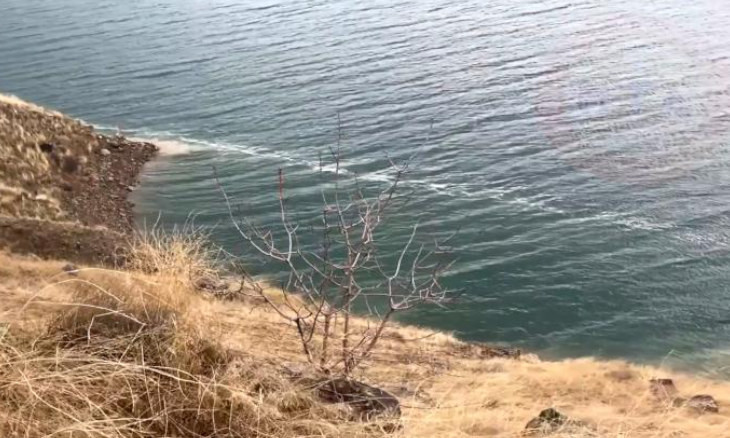 Signs of surface rupture from Elazığ earthquake visible in area lake