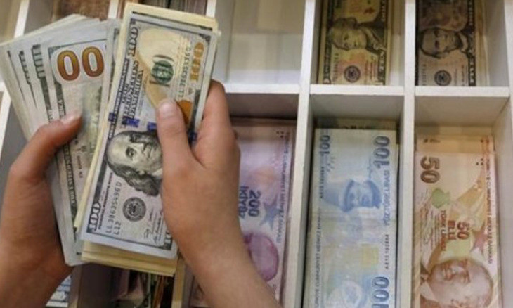 Turkish bank accounts currently holding $224.7 billion of foreign currency