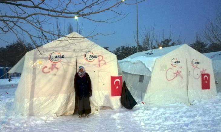 Thousands of Elazığ earthquake survivors still living in tents amid freezing weather