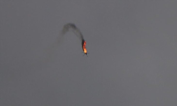 Turkey-backed rebels shoot down Syrian army helicopter in Aleppo