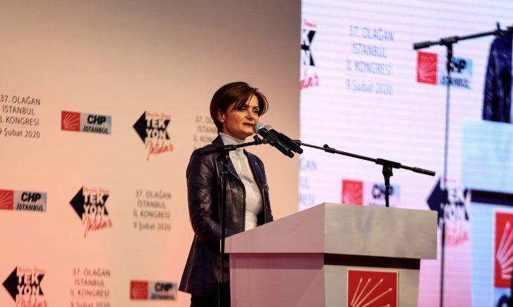 Turkish opposition CHP re-elects Kaftancıoğlu as its Istanbul chair