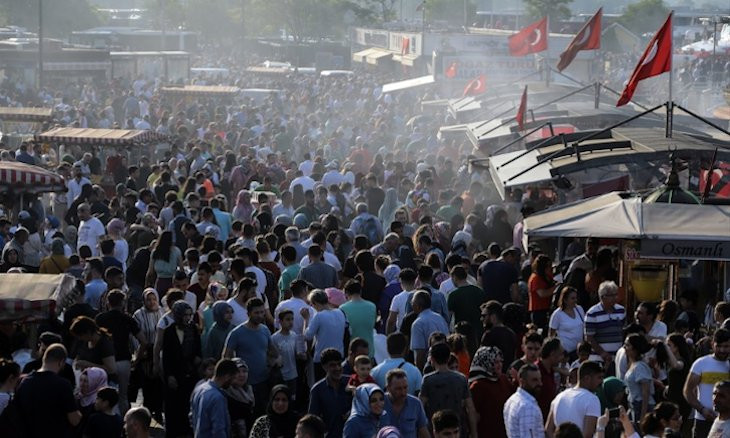 Turkey's population fluctuations by city in 2019 reveals huge range