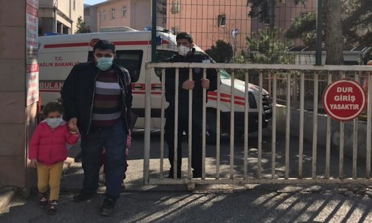 Kindergarten left open in Ankara's quarantine hospital lot, risking 120 kids