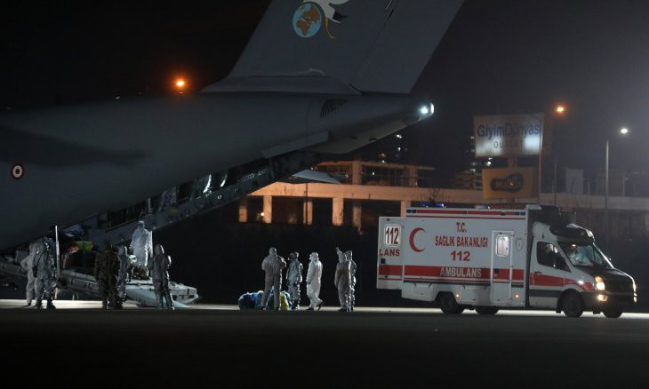 Quarantine period over for Turkish citizens from Wuhan