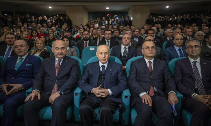 Turkey's nationalist party won't support main opposition's motions regardless of content