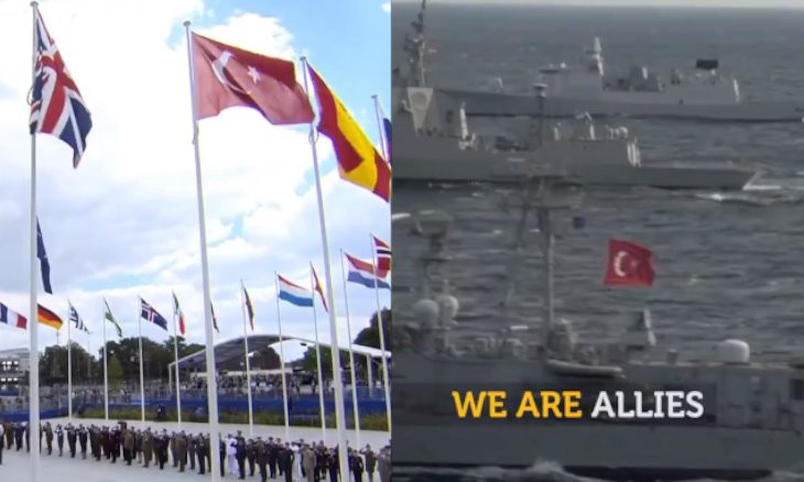 NATO shares solidarity video with Turkey