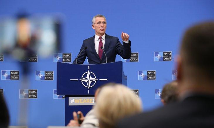 NATO chief calls on Assad, Russia to stop attacks in Idlib