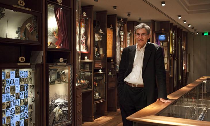 Orhan Pamuk: Love is like a car crash