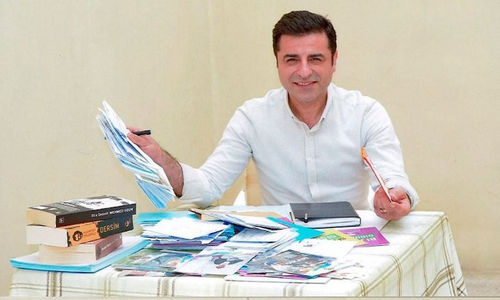 Demirtaş's HDP membership 'dropped over ban from politics'