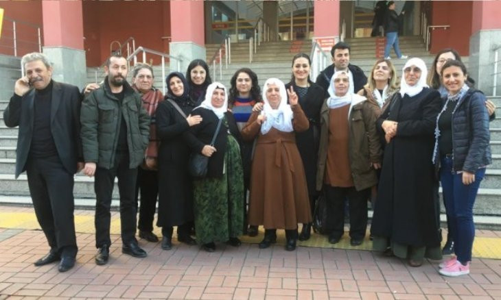 Prosecutor seeks sentence for Kurdish women over sit-in they held in solidarity for jailed relatives