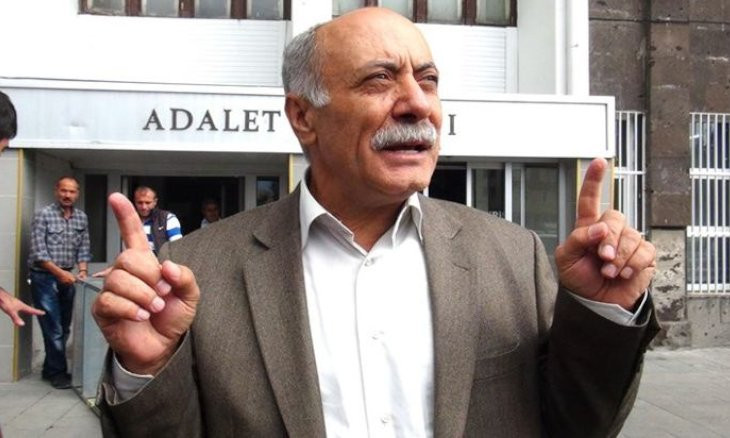 Kurdish politician Alınak sustains injury to head after falling in prison