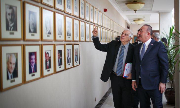 EU foreign policy chief tells Erdoğan border developments unacceptable