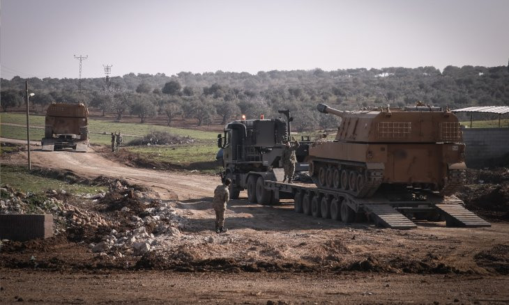 One Turkish soldier killed, nine wounded in Syria's Idlib