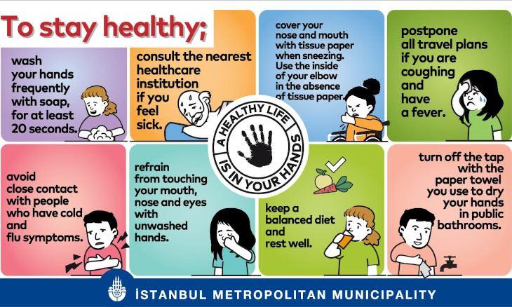Istanbul Municipality prepares informative videos on coronavirus in five languages