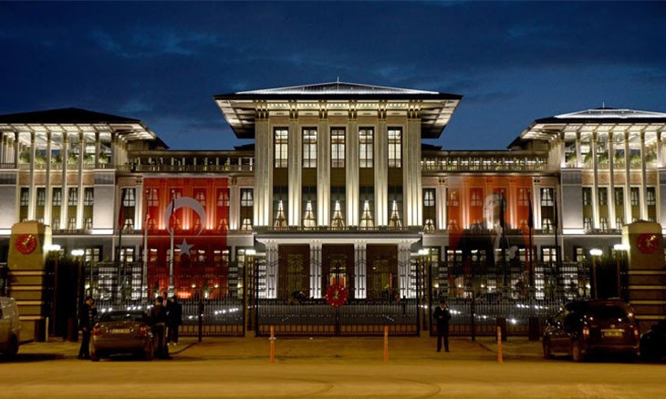 Erdoğan's presidential palace spent 4.5 million lira daily in 2018, Court of Accounts reveals
