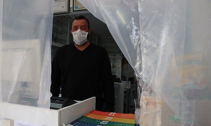 Pharmacists in Turkey's capital don't have masks for their own use, nor for sale