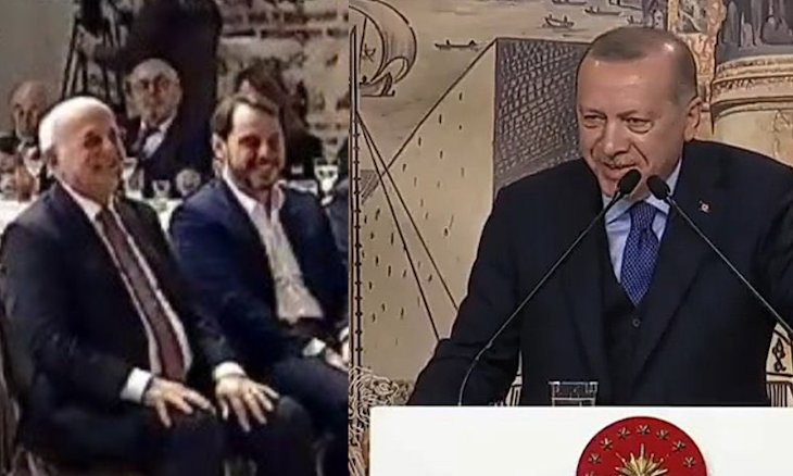 Erdoğan deems criticism on laughing during speech on dead soldiers a 'diabolic campaign'