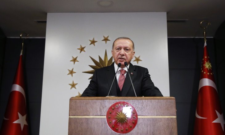Erdoğan launches donation campaign to assist citizens in need amid virus outbreak