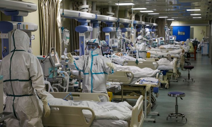 Hospitals are close to running out of masks, gloves, sanitizers, leading medical association warns