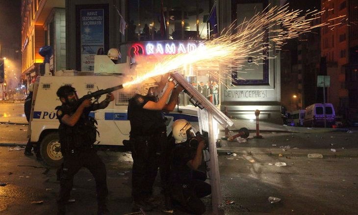 Turkey's top court rules for rights violation in case into Gezi protester hit by gas canister