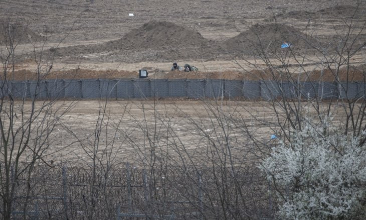 Greece digging trench at border: Turkish news agency