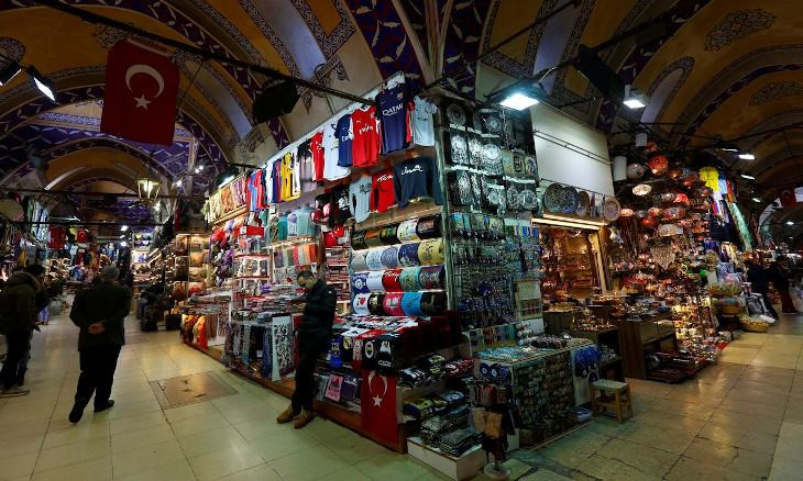 Coronavirus fear results in major drop in visitors to Istanbul's Grand Bazaar