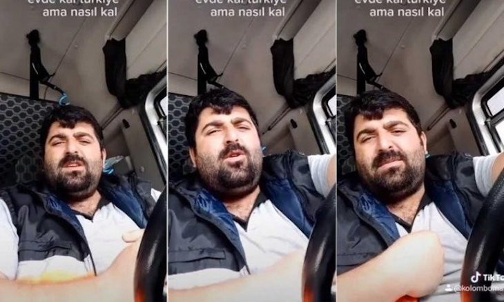 Turkey detains truck driver for saying 'this order will kill me, not coronavirus'