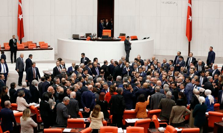 Turkish gov't seeks to strip main opposition MP of parliamentary immunity after criticizing Erdoğan