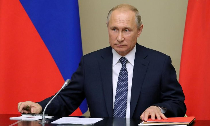 Putin says Russia does not plan to go to war with anyone