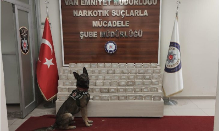 Turkish, Dutch narcotic forces recover over 2.3 tons of heroin in joint operation