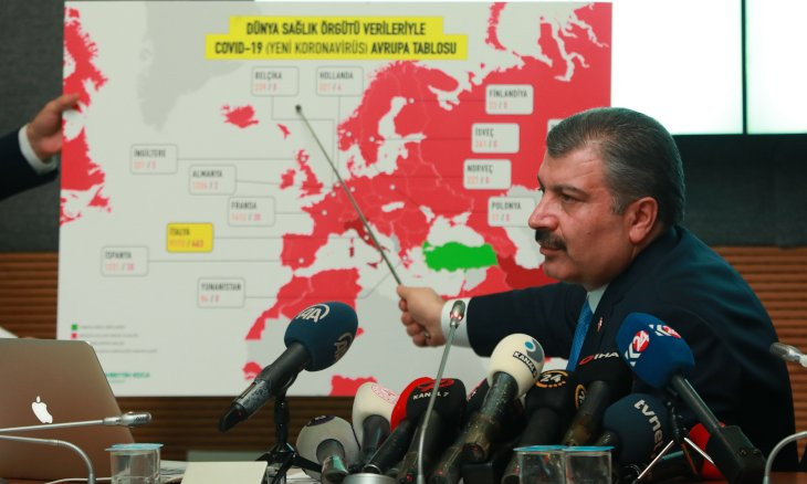 Coronavirus outbreak is highly likely in Turkey, health minister says