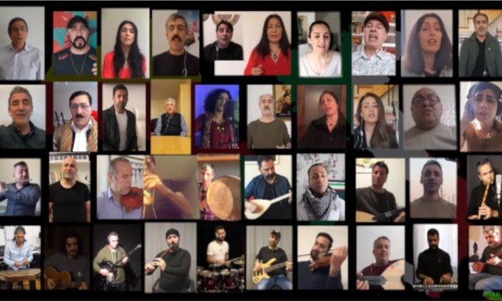 Kurdish musicians sing 'Bella Ciao' for Italians to show solidarity amid coronavirus