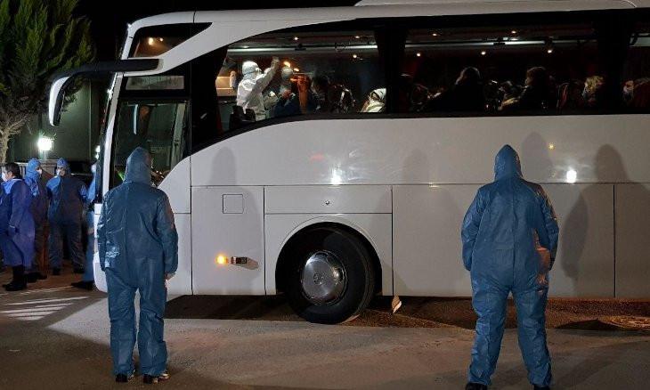 Turkey completes evacuation of citizens from Europe, puts them under quarantine