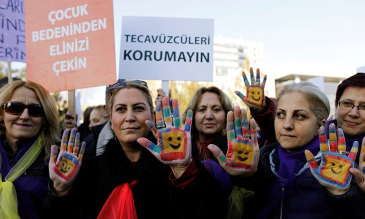 Turkish government's 'marry-your-rapist' draft law causes uproar on social media