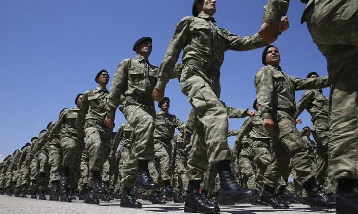 Turkey delays next wave of military conscription, extends current term by one month