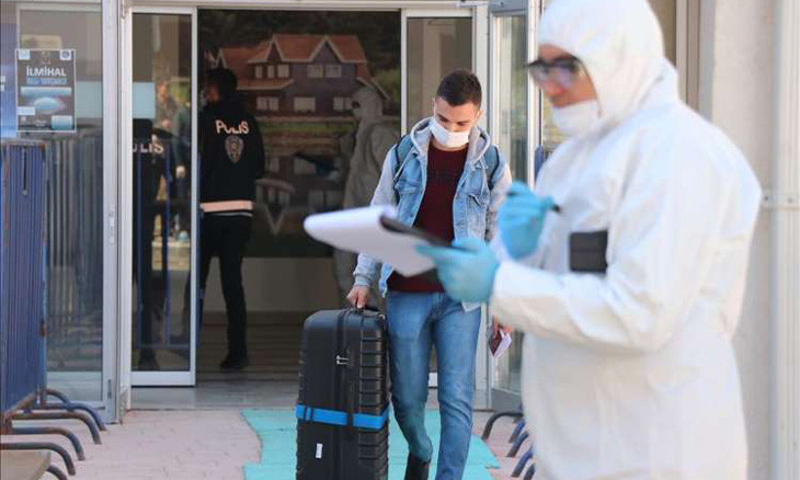 Turkey has nearly 13,000 people quarantined in dorms for COVID-19
