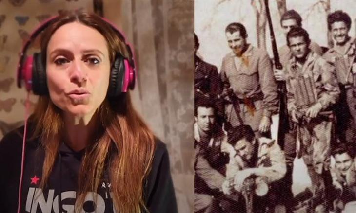 'La Casa de Papel' star, Rojava artist sing 'Bella Ciao' for anniversary of Mussolini fall