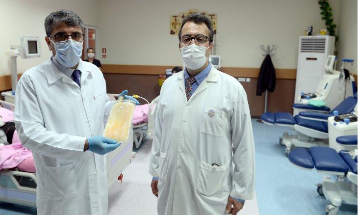 Turkey starts using plasma therapy on coronavirus patients
