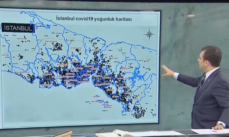 Istanbul's three residential neighborhoods higher in concentration of COVID-19 infections