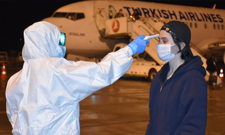 More than 1,300 citizens return to Turkey amid COVID-19 travel bans